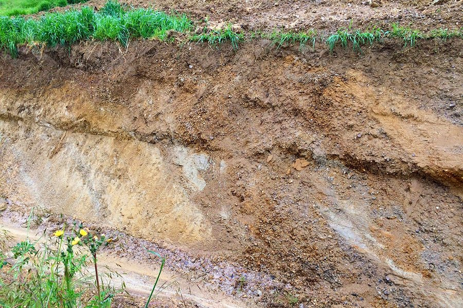 Geological composition of our soils
