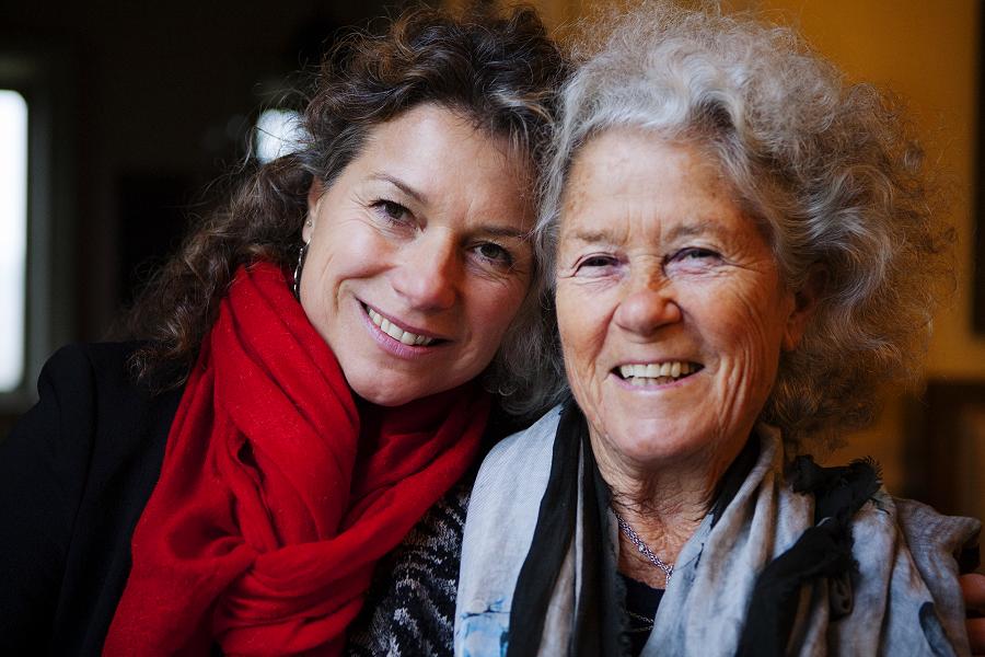 Valeria and Margherita Odero