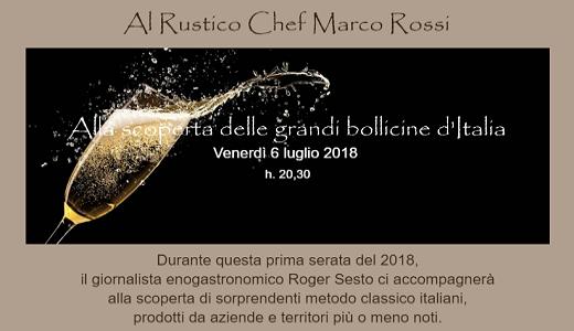 Grandi bollicine d'Italia con Roger Sesto