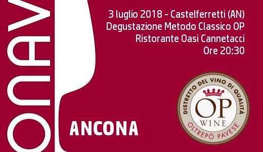 Degustazione Metodo Classico con ONAV Ancona