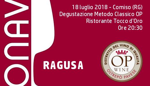Degustazione Metodo Classico con ONAV Ragusa