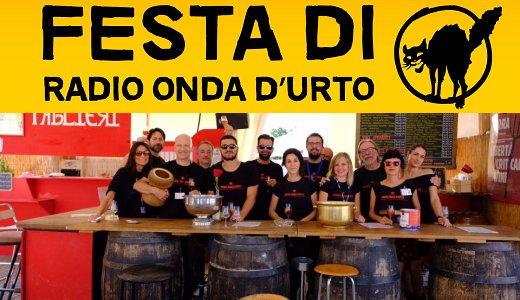 Enoteca della Festa di Radio Onda d'Urto (8-25 agosto 2018)