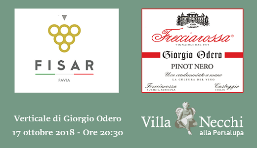 Verticale di Giorgio Odero con Fisar Pavia (17 ottobre 2018)