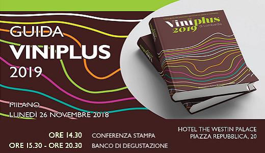 Presentazione della guida Viniplus 2019