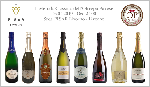 Degustazione di Metodo Classico OP con FISAR Livorno (16/01/2019)