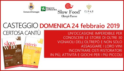Presentazione delle guide Slow Food (24/02/2019, Casteggio)