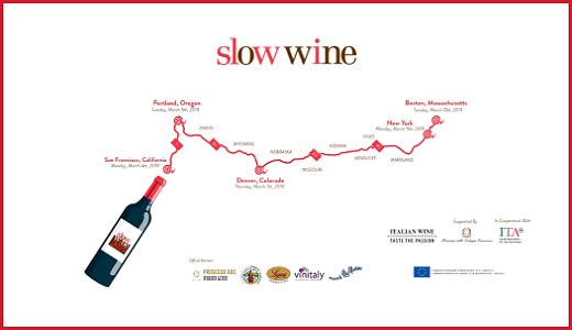 Slow Wine 2019 USA Tour