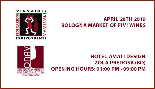 Bologna Market of FIVI wines - Poster