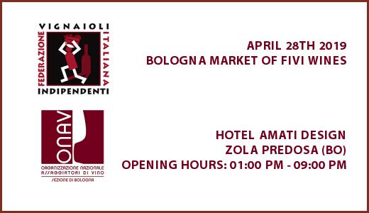 Bologna Market of FIVI wines - Poster