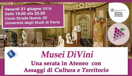 Musei DiVini (Pavia, 21/06/2019)