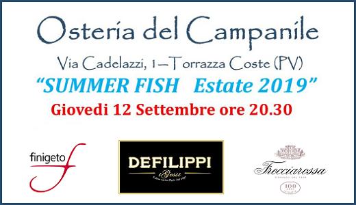 Summer Fish all'Osteria del Campanile (12/09/2019)