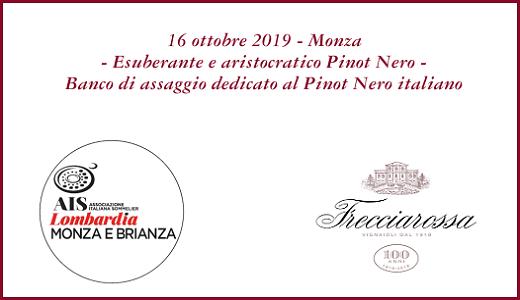 Degustazione Pinot Nero AIS Monza (16/10/2019)