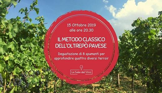 Degustazione Metodo Classico OP alla Sala del Vino (Milano, 15/10/2019)