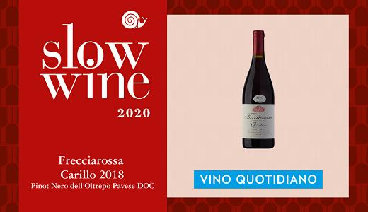 Carillo 2018 - Vino Quotidiano - Slow Wine 2020