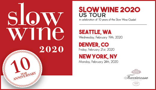 Slow Wine USA Tour 2020