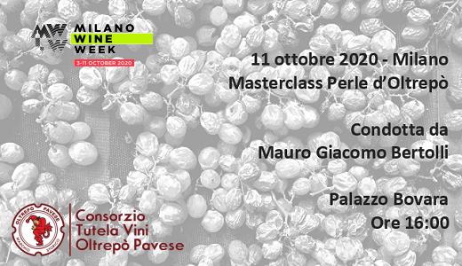 Masterclass Perle d'Oltrepò (Milano, 11/10/2020)