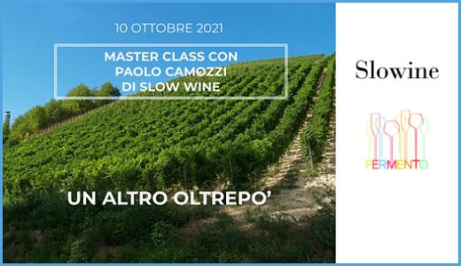 """""""Un altro Oltrepò"""": masterclass di Paolo Camozzi (10/10/2021)"""
